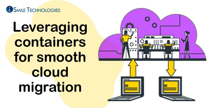 Leveraging containers for cloud migration