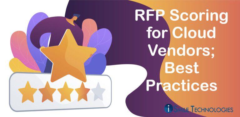 RPF scoring for Cloud Vendors
