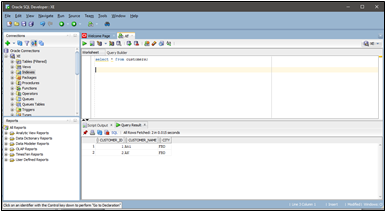 Data Migration from Oracle on premises Database to Big Query