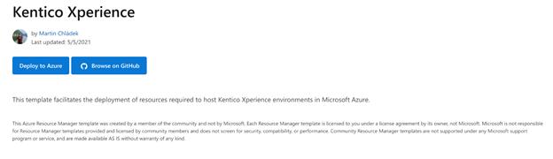 Deploying Kentico CMS to Azure