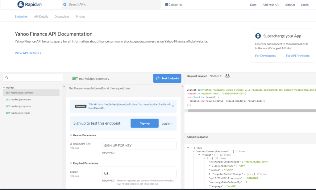 How we can embed Api to cloud by using any financial website