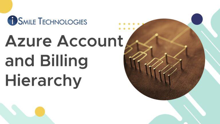 Azure account & billing