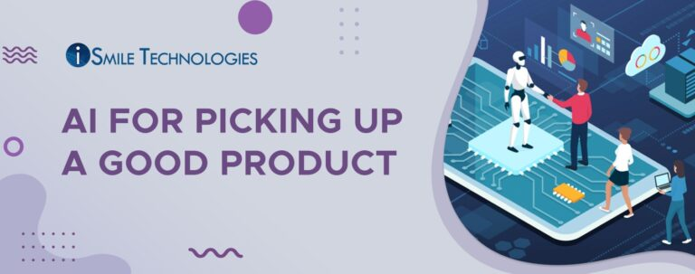 Picking up a good product using AI