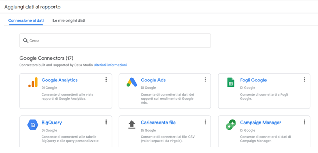 Building a dashboard in Google cloud